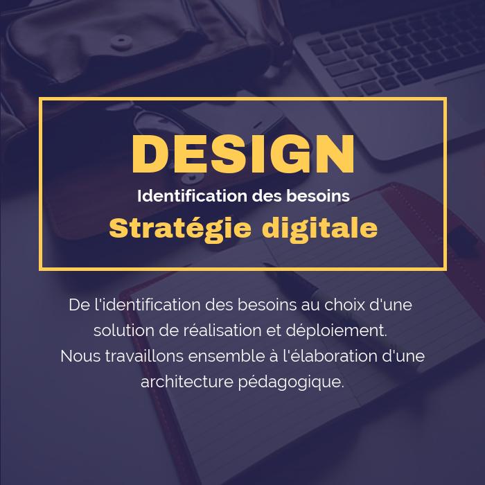 Design de stratégie digitale